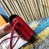 Picture of Hermes Roulis 18cm Calf Leather Shoulder Bag Red Gold