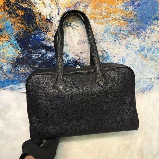 Picture of Herems Victoria 36cm Togo Tote Bag Black