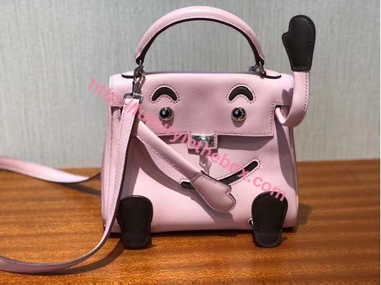 Picture of Kelly Doll  Bag Pink Silver